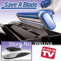 Free Shipping 500pcs/lot Save A Blade As Seen On Tv Shaver sharpens Blades Save A Blade razor blade