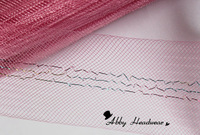1.8'' Special pink 3 thread cross Crinoline  Trade commodities 100yard