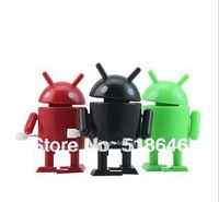 Mini Android Google Robot Doll wind-up toy,Presentation,Lovely,Attractive,Delicate,Work of art (lots) free shipping