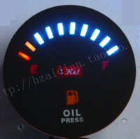 Motorcycle instrument car instrument refires led electronic fuel gauge panel