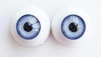 Bjd doll acrylic eyes 16mm - light blue