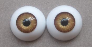 1/4 Sd dod ae ai soombjd doll acrylic eyes 16mm - shallow brown