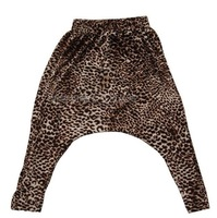 boys girls 2013 Z fashion male female pants harem Harlan  pants quality leopard print trousers children'sHanging crotch pp pants