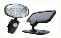 1W 15LED Solar pir utility light for security Motion senser wall light 12pcs/lot DHL Free shipping