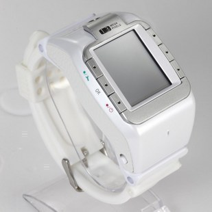 2013 wrist length table mobile phone yami meters w100 n800 personalized watches phone with qq java