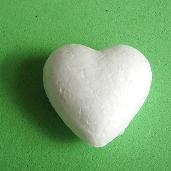 Isopor poliestireno Modelagem Craft bola corações Forma para o partido decoração Crianças DIY / 35 milímetros