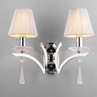 FREE SHIPPING Fashion wall lamp bedroom lamp bed-lighting silver lamp cover PENDANT LAMPS