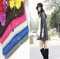 2013 spring women's loose with a hood long design long-sleeve sweater female cardigan autumn and winter thin outerwear