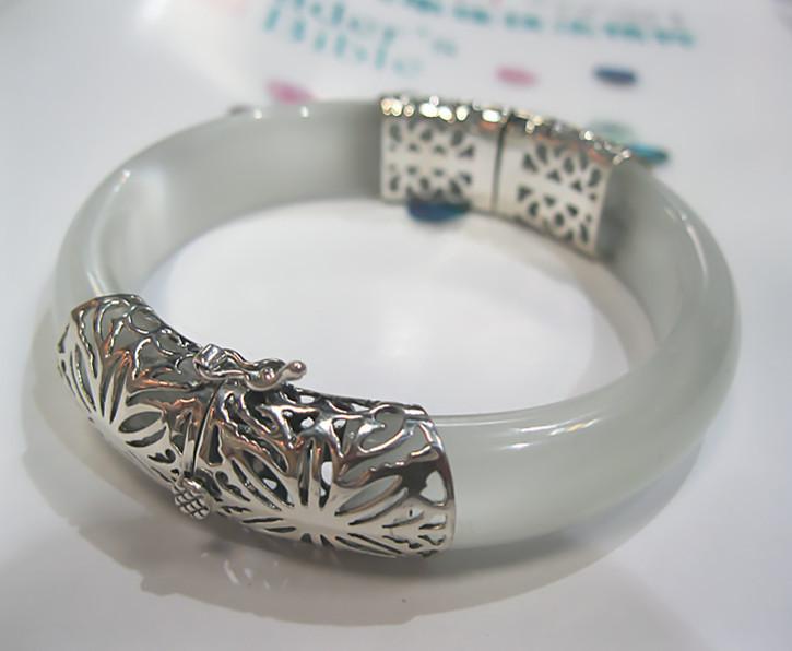 Pure Silver Bangles Fashion 925 Pure Silver