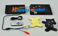 Model aircraft aerial FPV 7 inch TFT - LCD liquid crystal display with audio input power