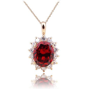 HOT!! FREE SHIPPING Zircon necklace brief women's charm necklace accessories