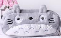 6PCS Japan Totoro Pen Pencil BAG Pouch Case ;Pendant Cosmetics Storage Coin Purse Wallet Bag Case