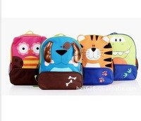 Wholesale - 8 Style Baby Toddler Kids Child Cartoon Animal zoo Backpack Schoolbag Shoulder Bag children