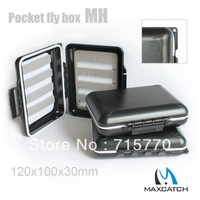 Smart pocket size waterproof fly fishing box MH