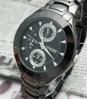 Sinobi tungsten steel sports casual luminous watch men's watches mens watch quartz watch