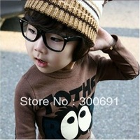 100pcs/lot free shipping  HOT Fashion children Cool Clear Lens Frame Nerd Glasses eyeglasses