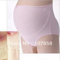 Wholesale - Hot sell Fashion Maternity Underwear Pregnant women panties Maternity Clothing 3 Size Pink Apricot  #ML070