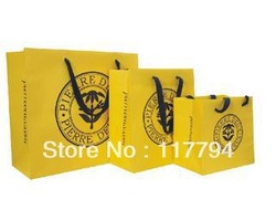 Gloss Art Paper Shopping Bags ,Wedding Gift Bags Printed(China (Mainland))