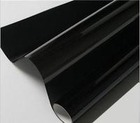 High Quality!0.5*3m 2Mil Dark Black Car Window Film,Glass Window Heat Insulation Film,Side Window Solar Protection