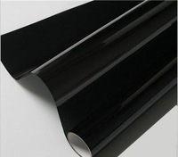 High Quality!0.5*3m 2Mil Dark Black Car Window Film,Glass Window Heat Insulation Film,Side Window Solar Protection