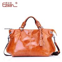 Fashion fashion women's handbag 2013 oil waxing leather genuine leather women's one shoulder cross-body handbag large bag