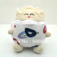 "Free shipping Anime Pokemon Character Togepi 6"" Plush Toy Soft Stuffed Animal Dol  l0pcs/lot"