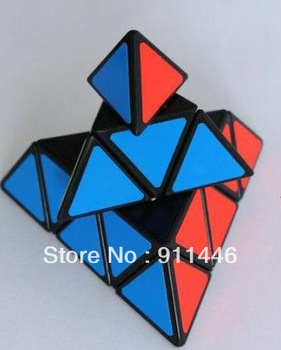 Baby Pyramid  Pyraminx Triangle Magic Cube IQ Puzzle Toy