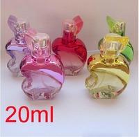 Hot Wholeslae Retial 20pcs/lot 20ml  Aluminum Nozzle Glass Perfume Spray Bottles Travel Atomizer Refillable Bottles