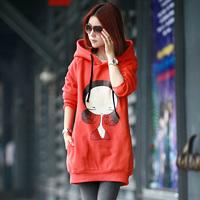 2013 spring AYILIAN sweatshirt female autumn outerwear design long outerwear female spring and autumn casual ,free shipping