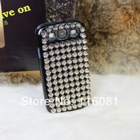 50pcs Hot Sale Punk Pyramid Stud Studs Rivet Case Back Studded Hard Cover For Samsung Galaxy S3 SIII i9300 Free shipping