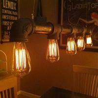 EMS FREE SHIPPING Meters silk light bulb vintage pendant light e27 pendant light bar table ceiling lamp