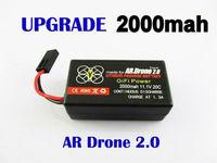 Parrot ar drone battery 2000mAH li-po