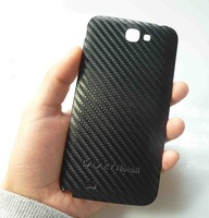 Carbon Fiber Battery Door Rear Back Cover Samsung Galaxy Note 2 II N7100 + NFC