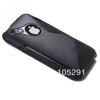 Fashion Soft Tpu S line Style Cover Case For iPhone 3G 3GS 1pcs/lot Free shipping PP bag
