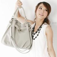 2013 women's spring handbag lock bag bucket bag handbag messenger bag women bag