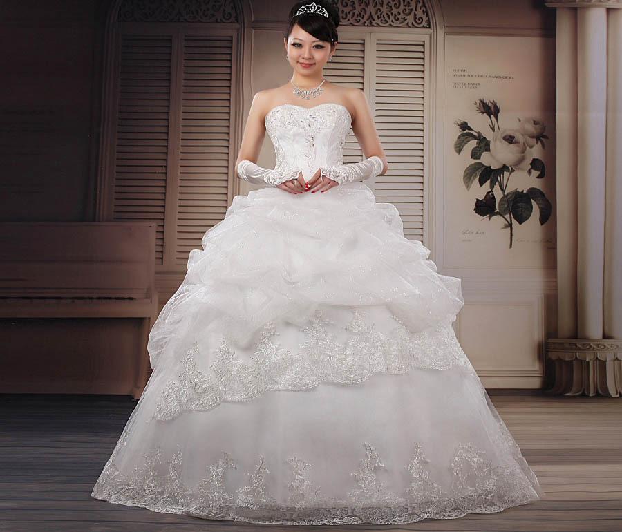2013 Sweet Elegant Princess Wedding Dress Wedding