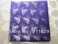 purple color Grand Hayes Headties/Swiss Headtie,Regular headtie fabric,A++quality African Headtie Fabric,Head Accessory