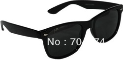 Free Shipping wholesale 2013 New Fashion wayfarer sunglasses back High Quality With Colorful frame(China (Mainland))