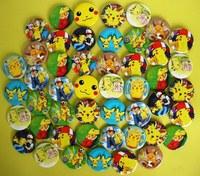 NEW Pikachu Pokemon Badge pin Lot set of 45pcs D4.5