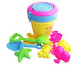 Free shipping Beach toy set hourglass tools mould sand child beach toy 10 piece set 1 - 3 years old