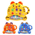 High quality hot sale kids Electronic piano toy tiger violin child puzzle piano music animal music