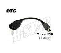 Free shipping high quality Micro USB Host Cable OTG mini usb cable for tablet pc mobile phone mp5