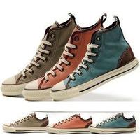 Low or High Style PRISON BREAK Classic Canvas Shoes Sneakers Men's/Women's all size EU35~43