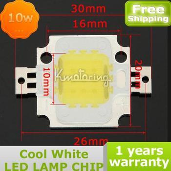 10W Cool White LED Chip COB High Bright Lamp Bulb For Flood Light Spotlight DIY,FREE SHIPPING Led Light Lamp Bulb Chip 10W COB