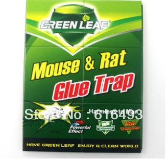 mouse board, Sticky rat glue rat mouse trap,big rats to stick ,brand green leaf(China (Mainland))
