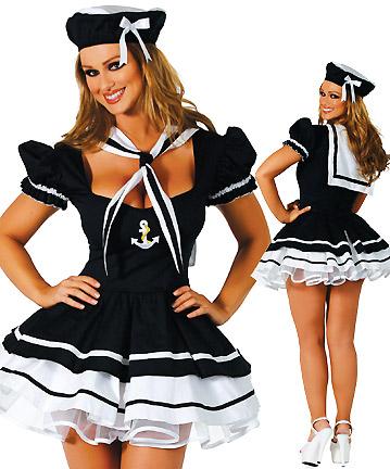 Puff saia corset chapéu saia curta MATELOT Marinha das mulheres(China (Mainland))
