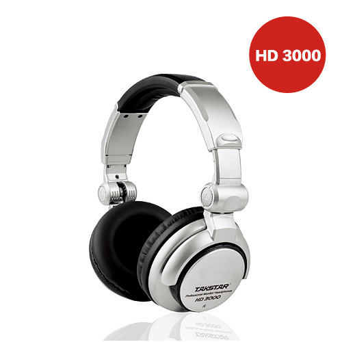 Hd-3000 headset earphones professional closed monitor's earphones(China (Mainland))