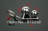 2013  100%real 304 stainless steel anal butt plug sex toys for man sex tail FREE SHIPPING urethral plug/anal toys A520