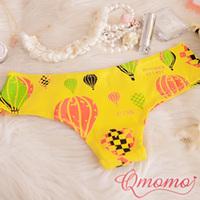 American style cute balloon 100% cotton sexy panties triangle panties t thong vivi