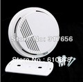 Free shipping,SS168 Home Security System Cordless Smoke Detector Fire Alarm(China (Mainland))